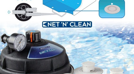 Sistema automático integrado Net 'N' Clean by PoolWorK