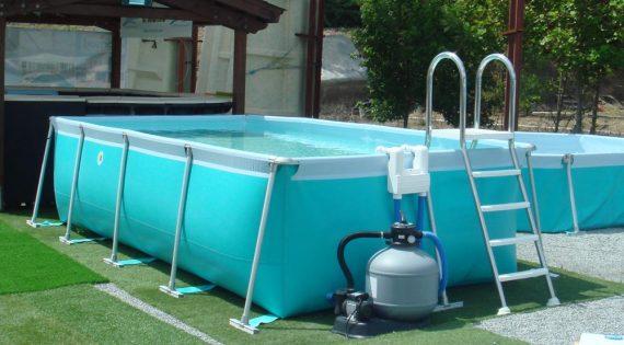 Consejo antes de comprar una piscina desmontable.