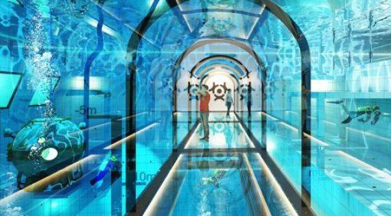 La piscina más profunda del mundo 45 metros